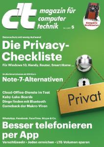 Privacy-Checkliste der c't: Mehr Datenschutz mit wenig Aufwand