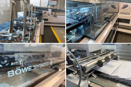 2021 konnte LetterXpress seine Kuvertiertechnologie mit einer Investition in einen Hochleistungs-Kuvertierer der Firma Böwe auf ein neues Level heben. © Bild: LetterXpress