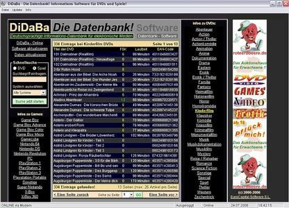 "Screenshot ""DiDaBa-Software"""