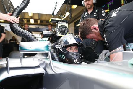 ebm-papst Ventilatoren kühlen die Seitenkästen des F1 W06 Hybrid-Rennwagens von Nico Rosberg