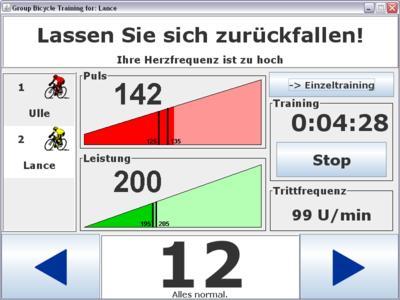 Screenshot der Anwendungsoberfläche
