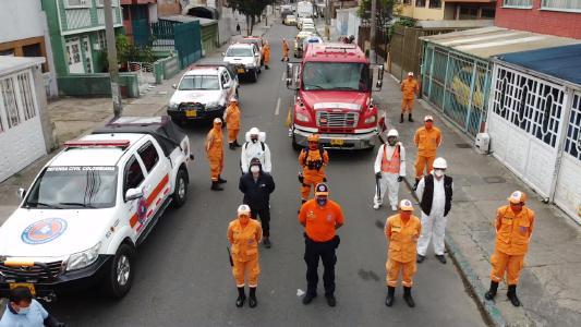 Das Team von APD Humanitario Drone Responders