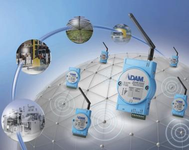 Kompakte, drahtlose IEEE 802.15.4-konforme I/O-Module