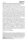[PDF] Pressemitteilung: Wegweisende Technologien von engram auf dem GAD FORUM 2009