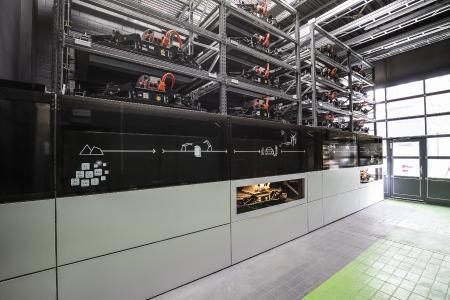 Battery storage EUREF Campus Berlin. Source: AUDI AG Please view for copy right: https://www.audi-mediacenter.com/en