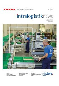 in neuem Design: die Intralogistik News von viastore systems.