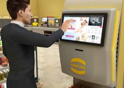 Beim Verkaufssystem Aura wählen die Kunden ihr Produkt in der entsprechenden Warengruppe am Point of Sale (POS), erhalten es jedoch erst kurz vor der Bezahlung aus einem Ausgabeautomaten im Kassenbereich