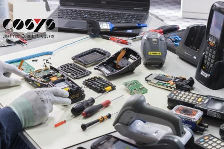 COSYS Reparaturservice setzt defekte Honeywell Dolphin 9500 und weitere Geräte wieder in Stand
