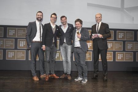 Loewe iF Design Award Gruppenbild