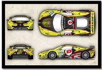 Fan-Design für Dunlop-Art-Car in Le Mans steht fest