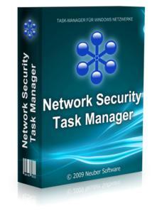 "Screenshots der Software ""Network Security Taskmanager"", Version 1.0"