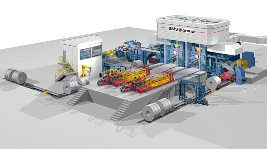 Design concept of the Compact Cold Mill.