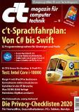 Titelblatt c't 13/20