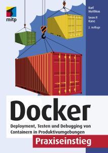 Cover Docker Praxiseinstieg