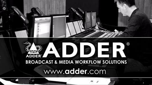 ADDER KVM für die Broadcastbranche
