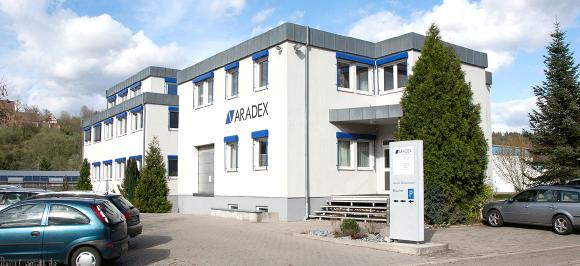 Gebäude ARADEX AG