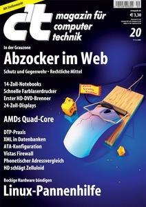 Das Titelbild der aktuellen ct-Ausgabe 10/2007