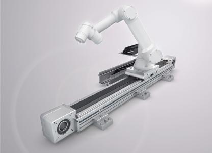 Rollon hat sein Seventh-Axis-Sortiment um zwei weitere Baugrößen für Automatisierungsaufgaben mit geringeren Traglasten erweitert