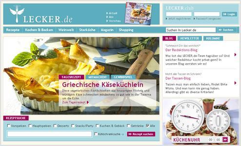 Konzept und Realisierung des Food-Portals LECKER.de stammt vom Berliner IT-Full-Service-Dienstleister neofonie