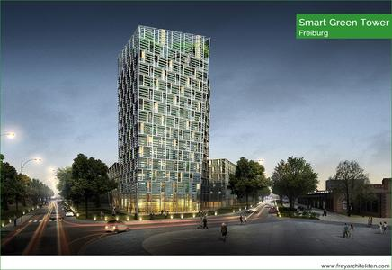 Architektur mit sozialem und ökologischem Anspruch – der neue Smart Green Tower in Freiburg