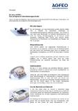 [PDF] Pressemitteilung: 60 Jahre AGFEO –Eine erfolgreiche Unternehmensgeschichte