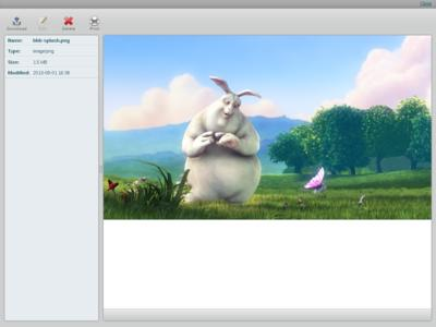 Kolab Webclient Bild-Ansicht