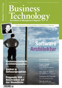 Cover Business Technology Magazin
