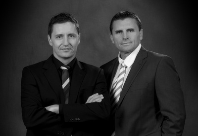 Uwe Bürder und Michael Hilgert, Geschäftsführer der SalesLearning-Akademie