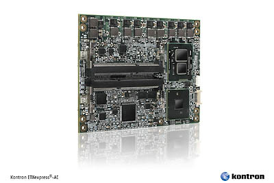 Kontron COM Express Basic form factor Computer-on-Module  ETXexpress-AI now with the new Type 6 pin-out
