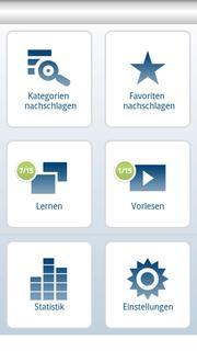 Klett App Start Screen