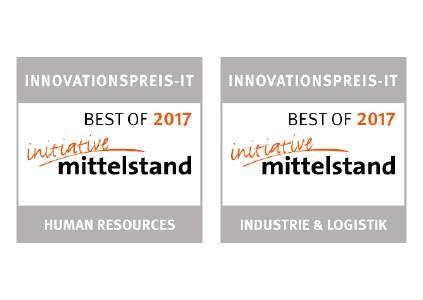 T.CON zweifach mit Innovationspreis-IT ausgezeichnet