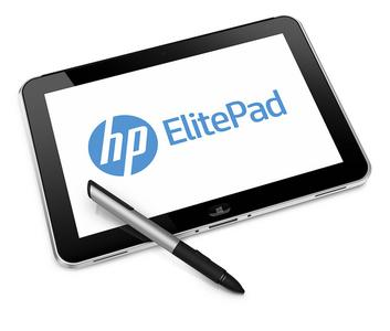 HP ElitePad 900 Executive Tablet Pen Hero (Bild: HPDeutschland)