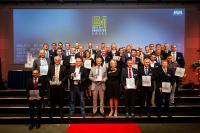 """""""Best of Industry""""-Award 2018: Sieger, Nominierte und Laudatoren (Quelle: S. Bausewein / Vogel Communications Group)"""