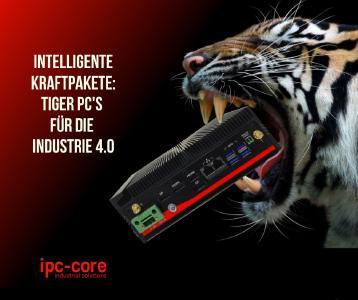 Die Box-PC Tiger C-M1 und C-M2 Modelle sind echte Kraftpakete und unterstützen Sie bei Ihren Aufgabenstellungen.