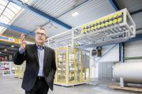 Sehr zufrieden mit TRILUX' 360-Grad-Service: heat11-Geschäftsführer Dietmar Hunold.