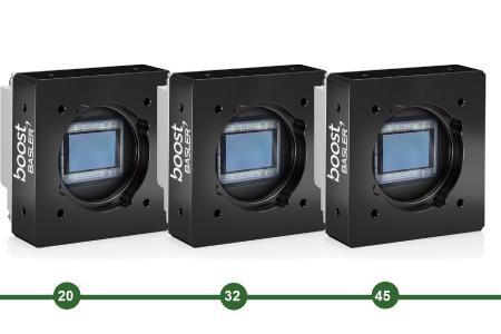Basler boost Kameras - 20, 32 und 45 Megapixel - ON Semiconductor XGS Sensoren - CoaXPress 2.0