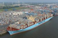 MATZ MAERSK for the first time in Bremerhaven