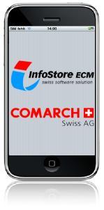 Auf der IT&Business wird der Prototyp einer neuen iPhone-App für InfoStore gezeigt