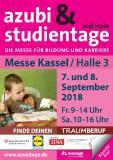 Plakatmotiv der azubi- & studientage Kassel 2018