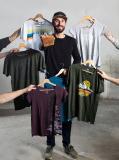 Wertschätzung ist das bestimmende Element für Timo Beelow, Gründer des Wuppertaler Textillabels wijld. Seine Kleidungsstücke sollen eine Alternative zu Wegwerfmode bieten. Foto: EFA