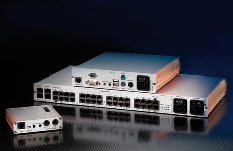 DVI KVM Matrix with dynamic port assignment presented to UK market