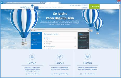 Website airbackup