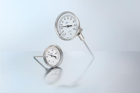 Standard bimetal thermometers for global application in the process industry, model TG53 and model TG54
