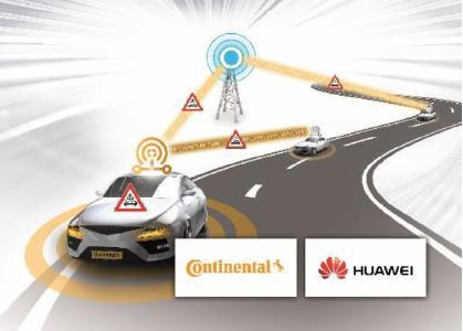 Continental's initial C-V2X trials in Shanghai with Huawei have successfully reached an average latency of 11 ms for direct communication between vehicles