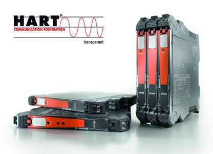 Weidmüller ACT20P: The ACT20P signal converters reliably isolate and convert analogue current signals at the transfer level. Integration with with HART communication systems is easy, as they transmit telegrams transparently to HART devices