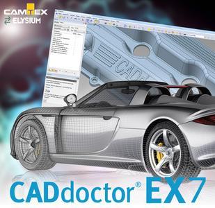 Verkürzte Entwicklungszeit und hohe Datenqualität mit CADdoctor EX 7