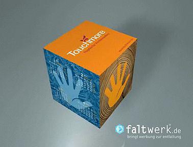 Haptisches Werbemedium von Touchmore