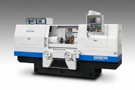 Für höchste Präzision beim Außenrundschleifen sorgt die neue Shigiya GPH-Generation.