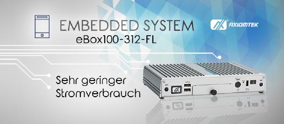 eBOX100-312-FL – Lüfterloses Embedded System für Ihr Smart Retail Business