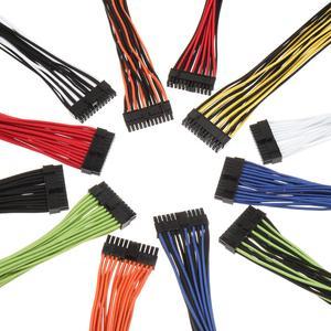 Brandneu und exklusiv bei Caseking: Die vorgesleevten Alchemy 2.0 Kabelsets in Premium-Qualität von BitFenix für viele Netzteil-Hersteller